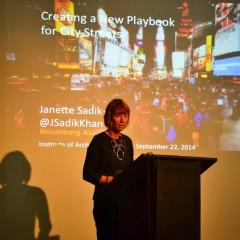 Janette Sadik-Khan no IAB/RJ